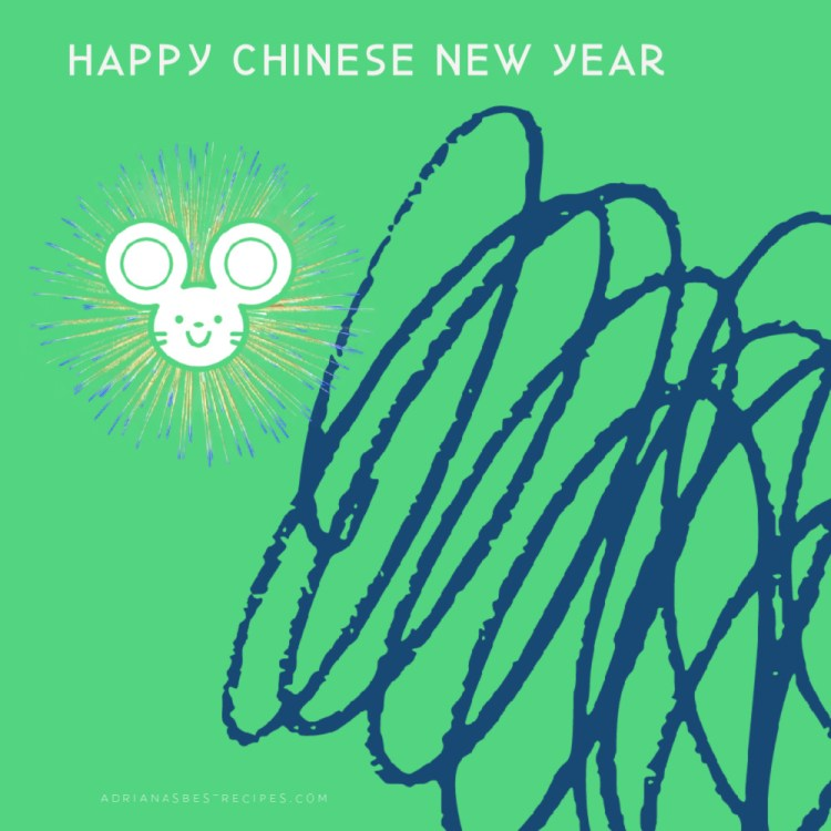 Happy Chinese new year the year of the metal rat