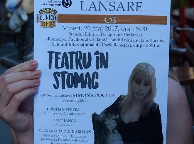 Teatru în stomac- Simona Poclid
