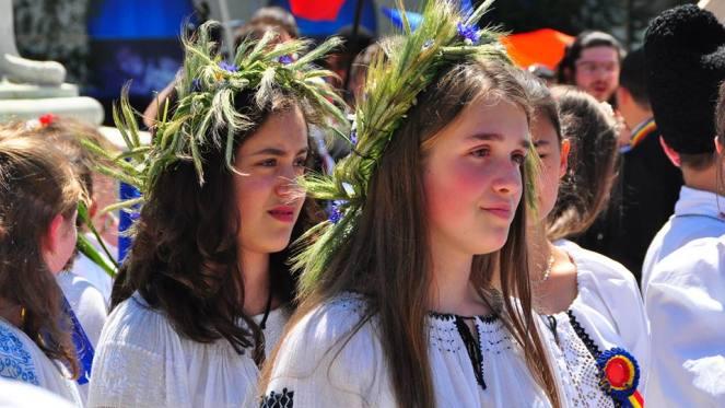 România poartă ie