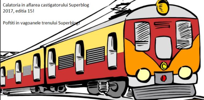 Poftiți în vagoanele SuperBlog!