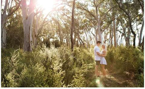 Sunshine Coast engagement session