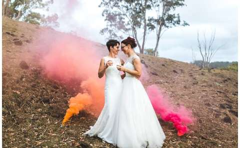 Same Sex Wedding Sunshine Coast