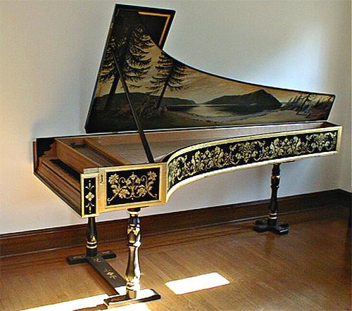 adrian card decorative painting harpsichords owen
