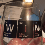 Periodic Table - Wine Glass