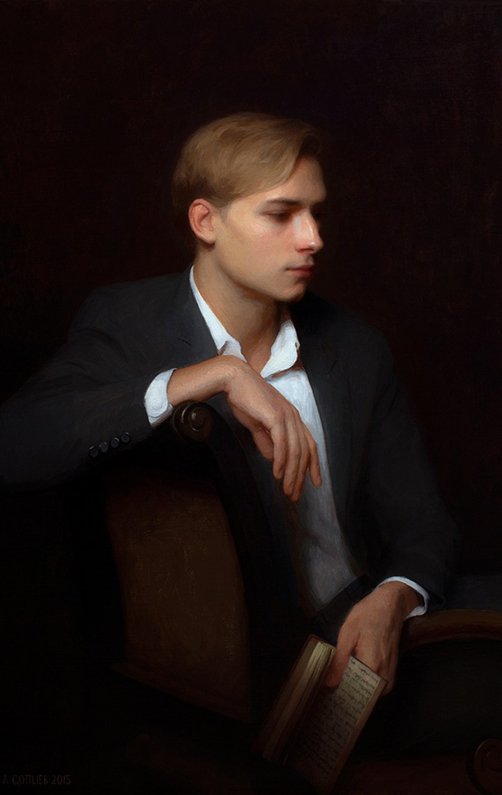 adrian gottlieb gallery - portrait of niclas