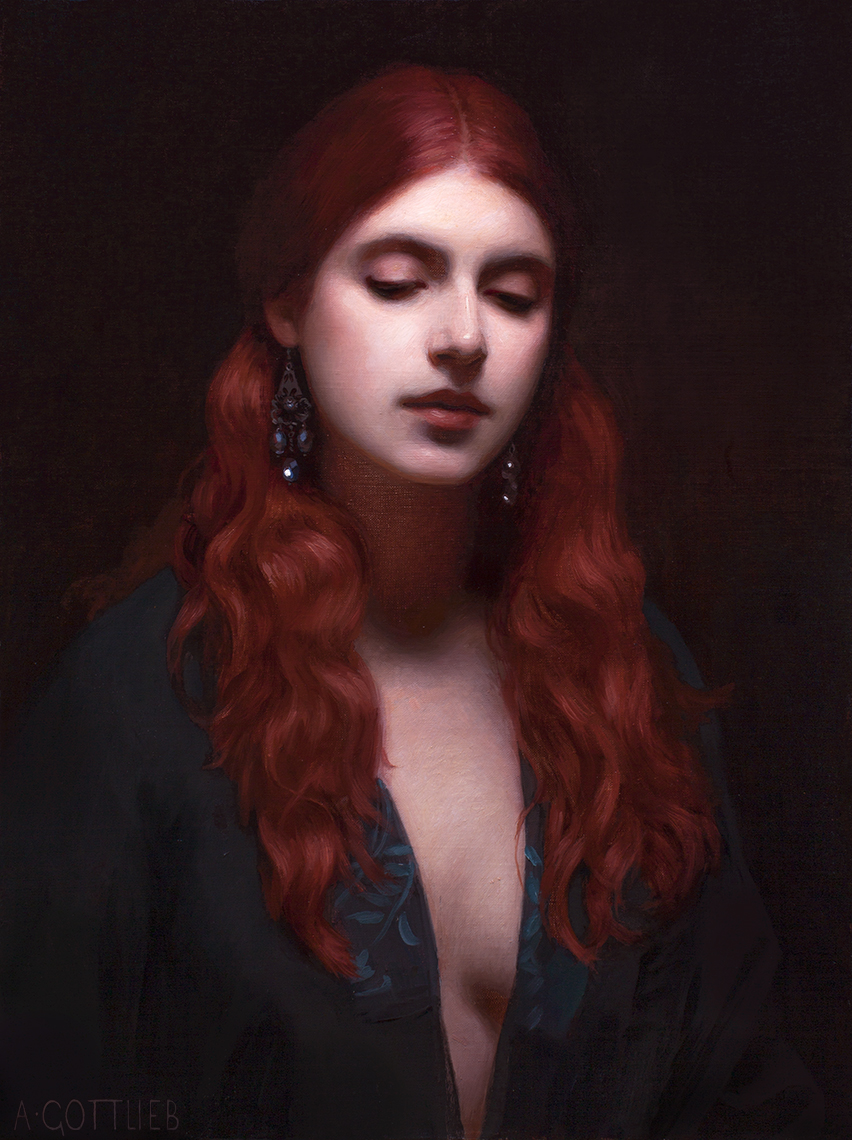 adrian gottlieb, portrait for lucretia