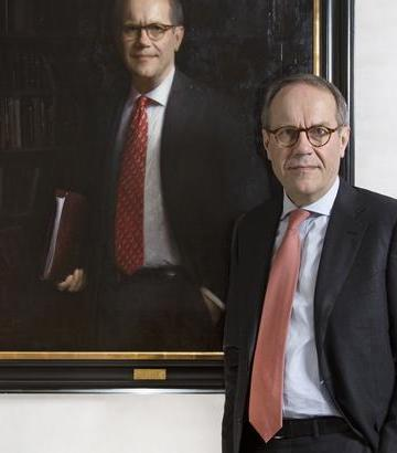 Jorma Ollila's Portrait on exhibition at Amos Anderson Museum, Helsinki