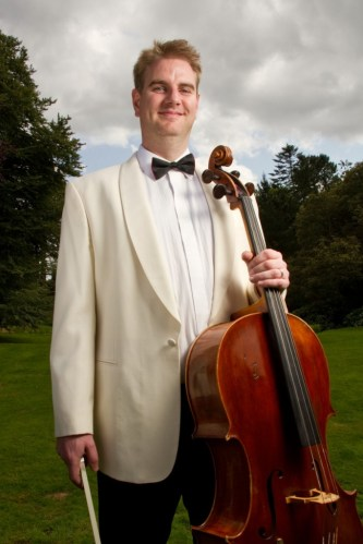 Martin Johnson and his cello