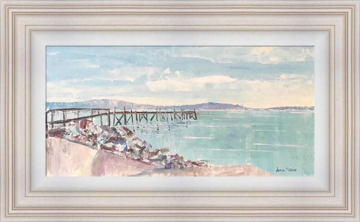 Kinnegar Pier, Holywood Framed
