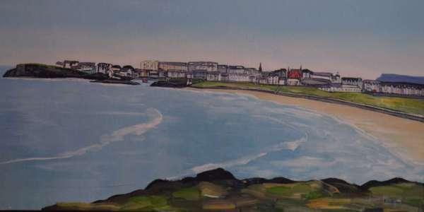 Across West Strand Portrush