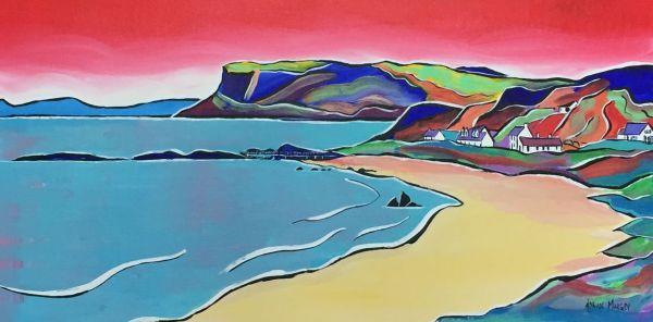 Ballycastle Beach Print