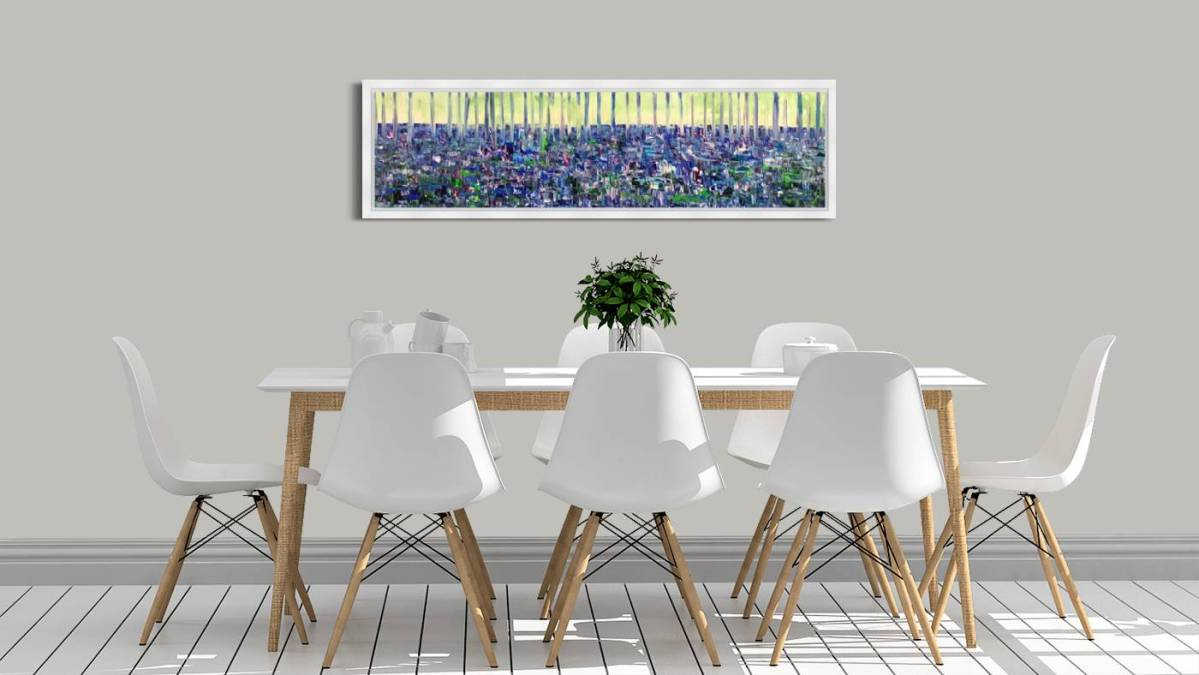 Bluebells Portglenone   Framing Available upon Request