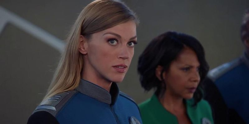 Photos: Adrianne in the second season of The Orville