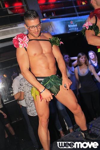 Adriano stripteaseur Adam et eve Metz