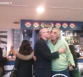 Casissa & Vanni bacio al Beriocafe