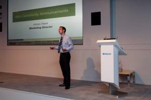 Adrian Reed speaking