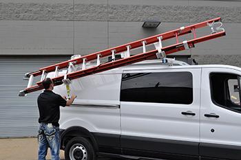 2015 Dodge Promaster City Ladder Rackvantech H Bar Dodge