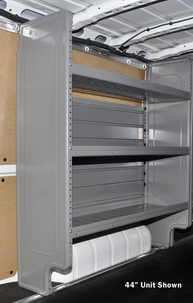 Adjustable 3Shelf Unit Gray