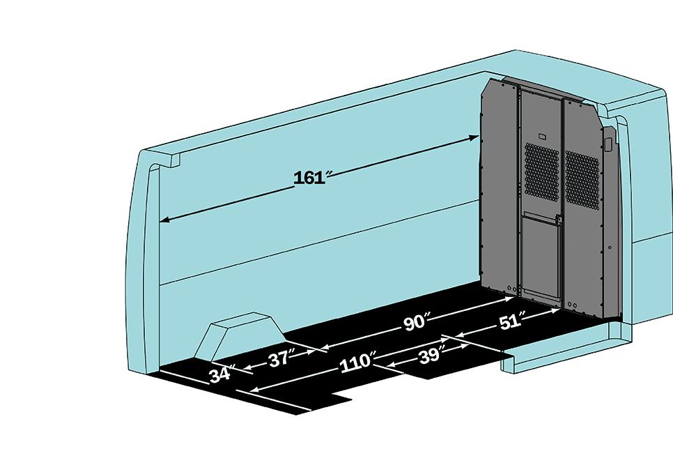 Van Econoline Dimensions Ford Cargo