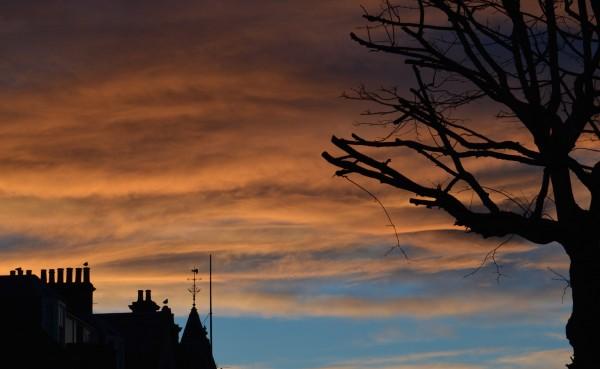 Clouds seen from Market Street