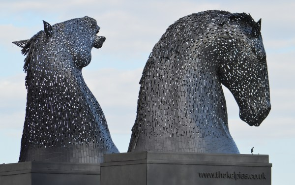 The Kelpie Maquettes in St Andrews.