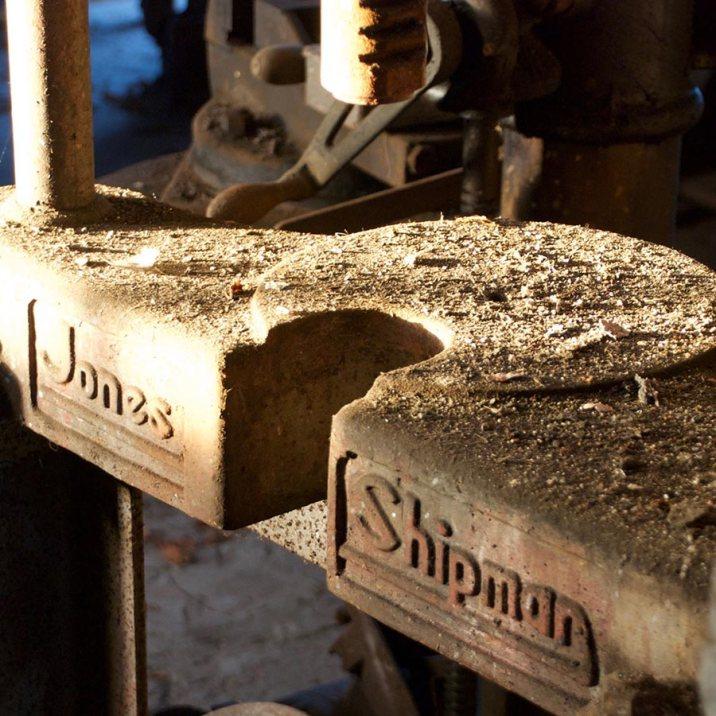 Jones Shipman bearing press