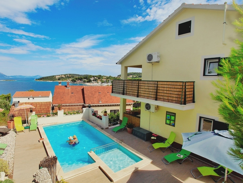 Apartments Sunshine Luxury Apartment Korcula With Pool