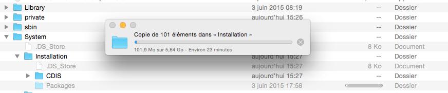 OS X 10.11 El Capitan sur VMware (6/6)