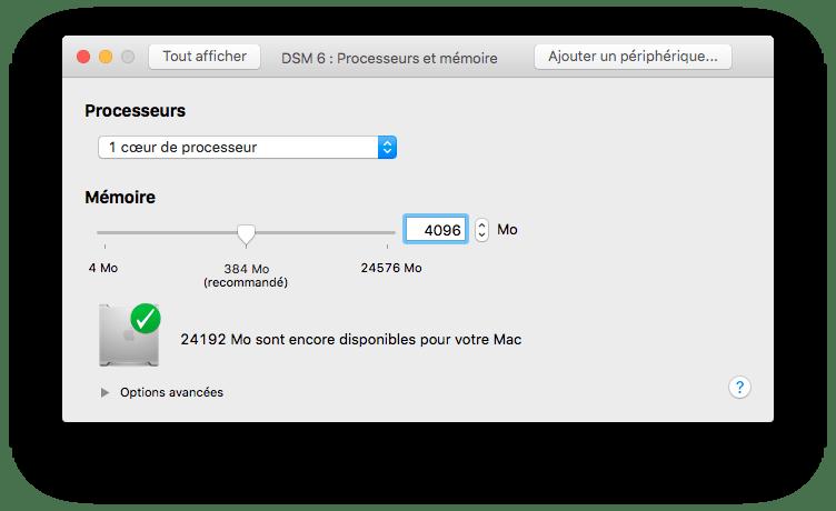 Tester DSM 6 beta sur VMware Fusion (3/6)
