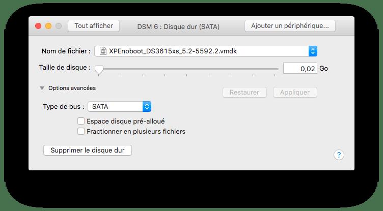 Tester DSM 6 beta sur VMware Fusion (4/6)