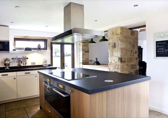 Completed Kitchen Design As Part Of A Barn Conversion 1