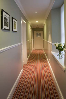 Interior design of a small hotel on the Isle of Arran in