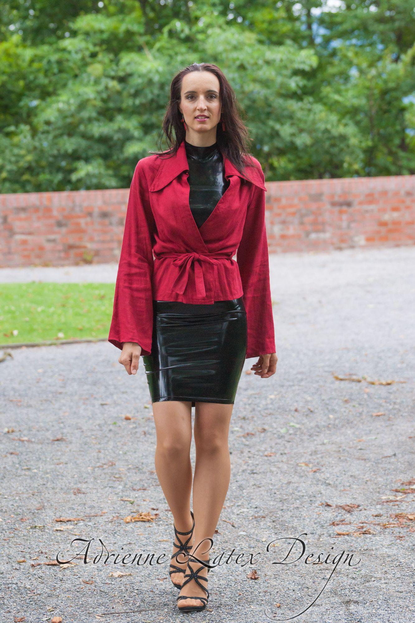 Gal2  Adrienne Latex Design  custom made fetish fashion