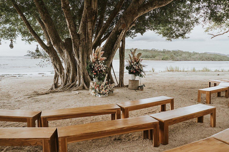 beach wedding pangas guanacaste