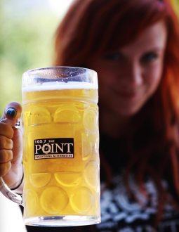 Model: Ashley 'LUX' Elzinga | Client: 105.7 the Point | Project: Point Mug Crawl