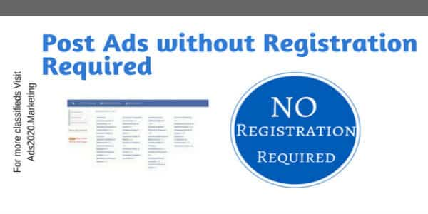 Post Ads without Registration Required-600x300