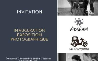 Le Labomylette à l'ADSEAM ! Inauguration de l'exposition à Saint Hilaire du Harcouet le 17 septembre 2021