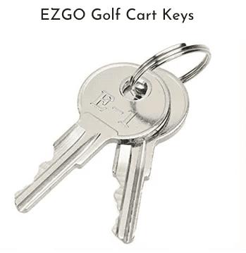EZGO Golf Cart Keys