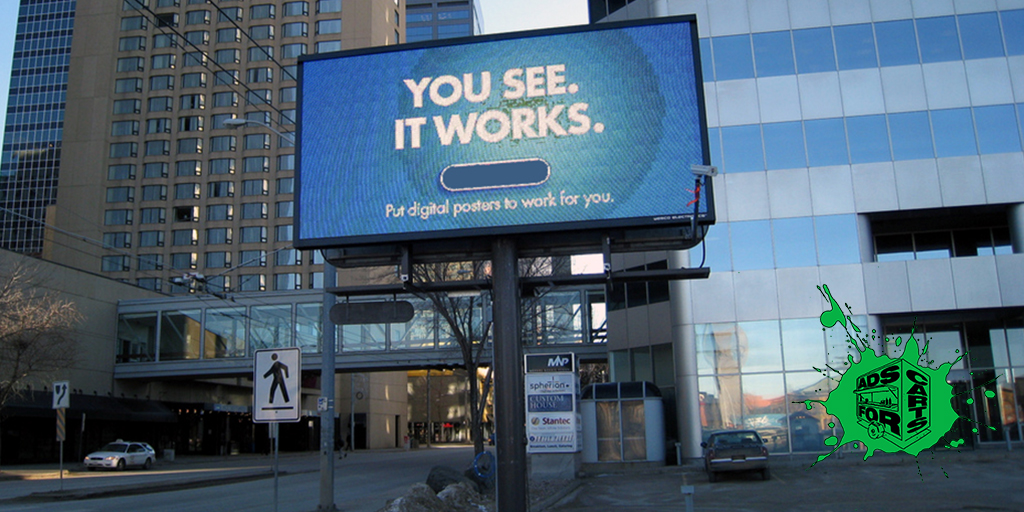 LCD-SCREENS-WILL-REPLACE-PRINTED-BILLBOARDS
