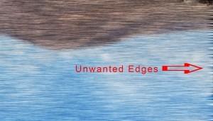 Increase width to hide unwanted edges.