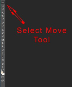 Photoshop's Move Tool