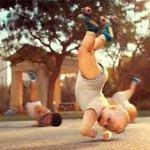 Evian Roller Babies Fabulous Ad