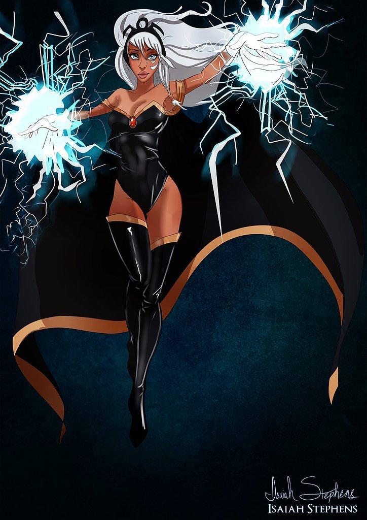 Kida as Storm