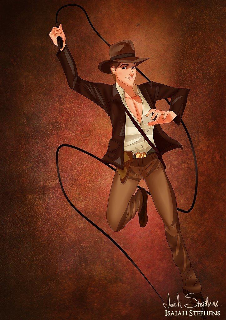 Prince Phillip as Indiana Jones