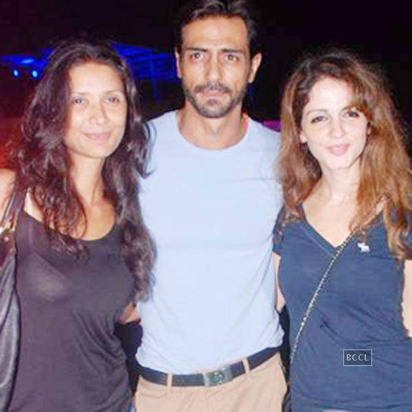 arjun and susane spoted together