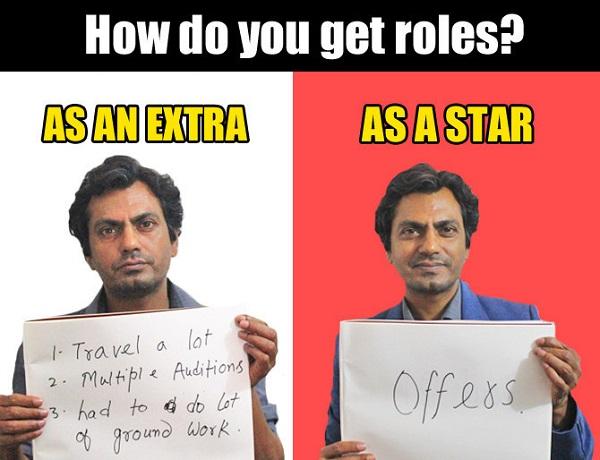 how nawaj get roles
