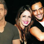 Arjun Rampal and Suzzane Roshan Spotted Together