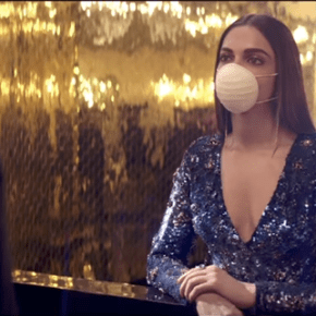 This Video of Deepika Padukone Wearing Mask is Something You Must Know