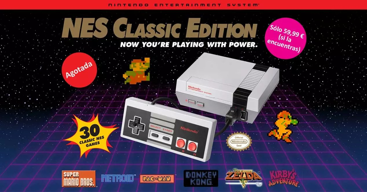¿Es posible comprar la NES Mini como regalo de Navidad?