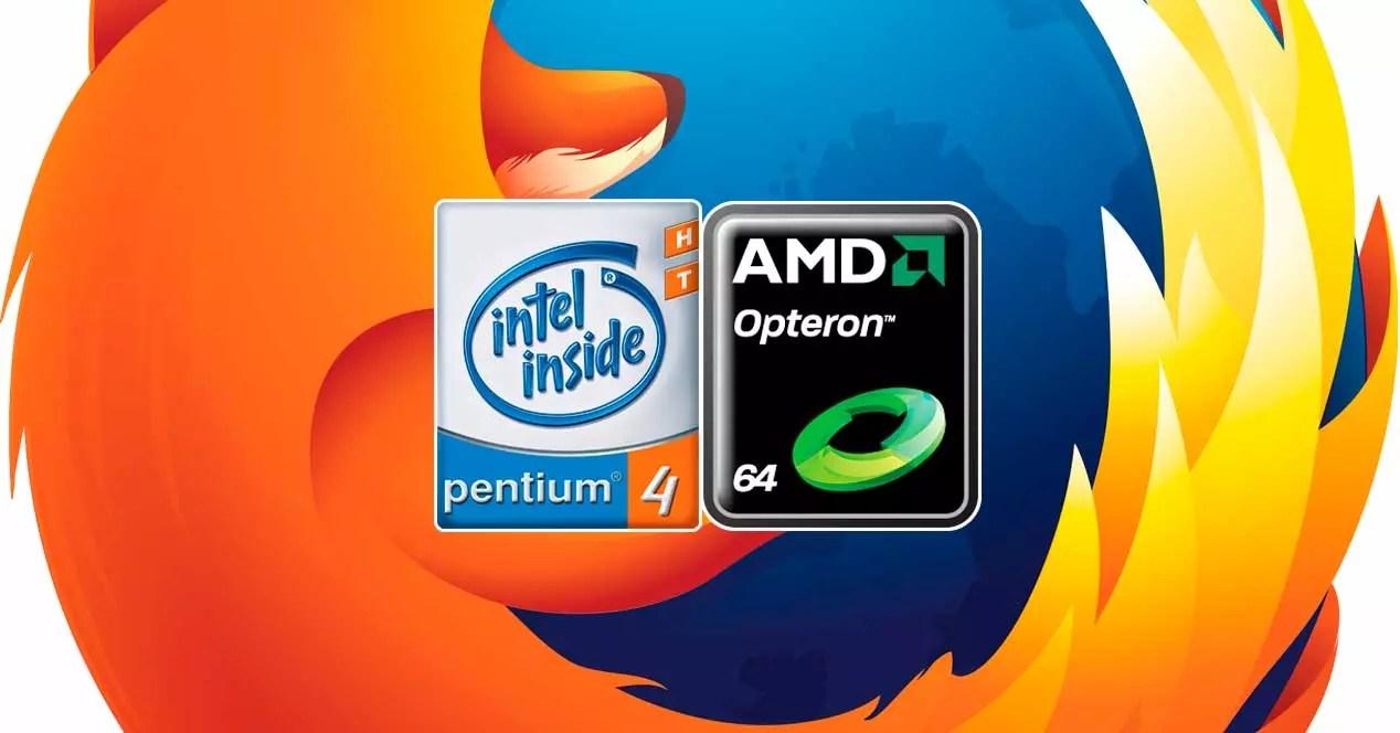 La próxima versión de Firefox no funcionará en Pentium 4 o AMD Opteron en Linux y Mac de 32 bit